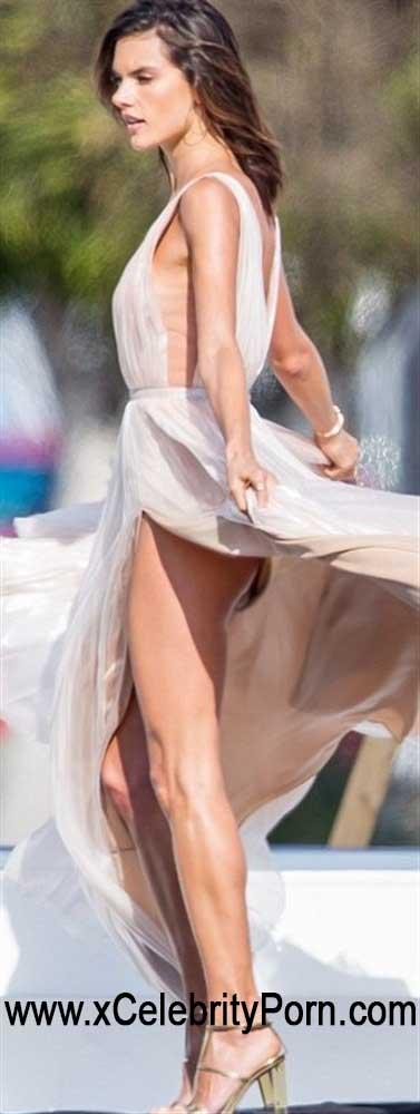 ALESSANDRA AMBROSIO XXX Y CHARLOTTE MCKINNEY Desnudas -modelos-xxx-holywood-detras-camara-actriz (3)