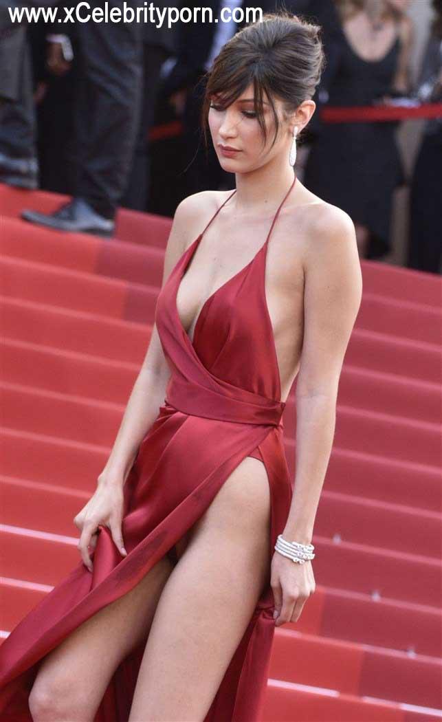 Bella Hadid Semi Desnuda Upskin de su Hilo Dental -upskin-descuido-sin-censura-foto-prohibida-xxx-pasarela-modelo-hot-cachonda (10)