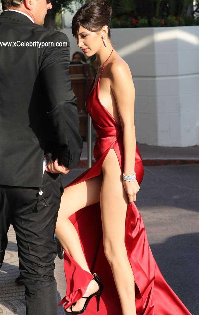 Bella Hadid Semi Desnuda Upskin de su Hilo Dental -upskin-descuido-sin-censura-foto-prohibida-xxx-pasarela-modelo-hot-cachonda (3)