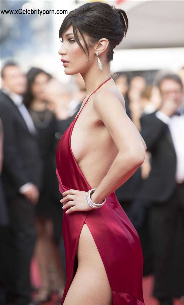 Bella Hadid Semi Desnuda Upskin de su Hilo Dental -upskin-descuido-sin-censura-foto-prohibida-xxx-pasarela-modelo-hot-cachonda (7)