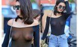 Kendall Jenner en Toples mostrando las tetas